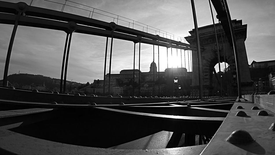 Budapest Castle from the Chain Bridge . Shot with GoPro Hero3+ GoPrography
