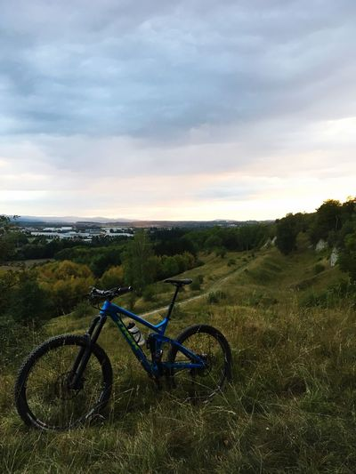 The last ride with my old Enduro Bike. Bicycle Trek Nature No People Cloud - Sky Landscape Beauty In Nature Fahrradeberhardtracing