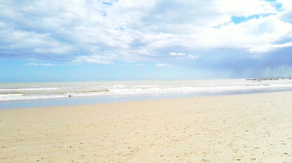 Springiscoming Walkingonthebeach Love♡ Italy Adriatic Sea Adriatic Coast Rimini Sunandclouds Storm Sundays Relaxing Moments Beach Palette Colors