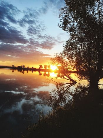 Colour Of Life Sunset_collection Beautiful Nature Summertime Waterscape Colorado Life Thunderstorms