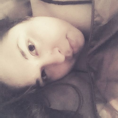 That's Me Taking Pictures Lazy Morning Selfie