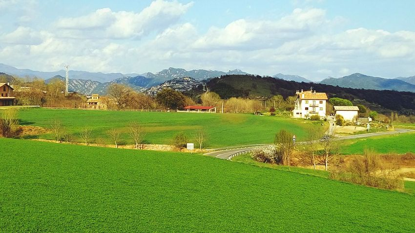 Landscape_photography Nature Nature_collection Green Sky And Trees Sky And Clouds Relaxingtime Paisaje Natural Paisatges Catalans EyeEm Nature Lover