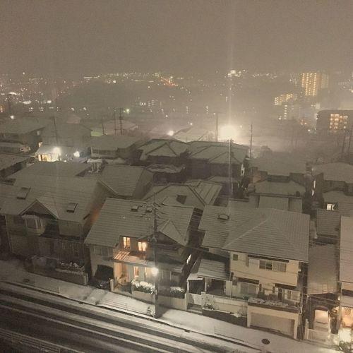 また今週末も大変な事に。。明日は仕事なんですけどね〜(^^;) Snow Hiroshima