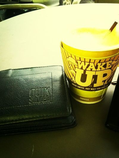 morning coffee.. Snack