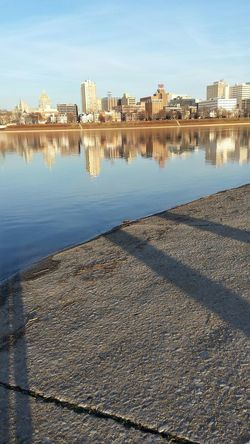 A beautiful view of my city... Harrisburg Reflection Pennsylvania City