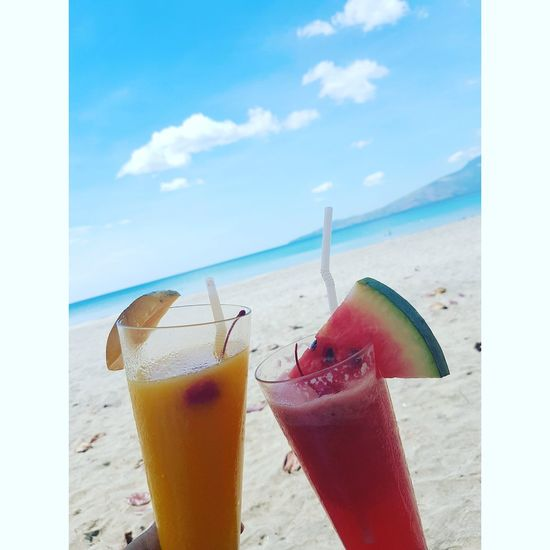 Cool off for the Summer EyeEmNewHere Sea Outdoors Water Beach Sky Summer Thirstquencher