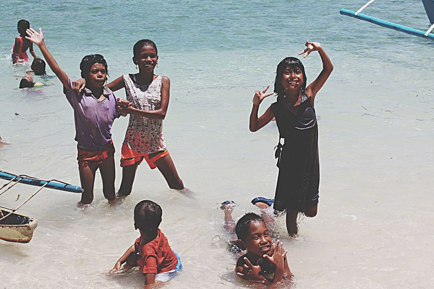 Helping Refugees part 1- amazing Elnido islands children's they are welcoming us by their own way they are #happy to see someone visiting them in their home land I really love them and they make you feel the real happiness Palawan Elnido Island Philippines Relaxing Taking Photos Enjoying Life Vacation 2015