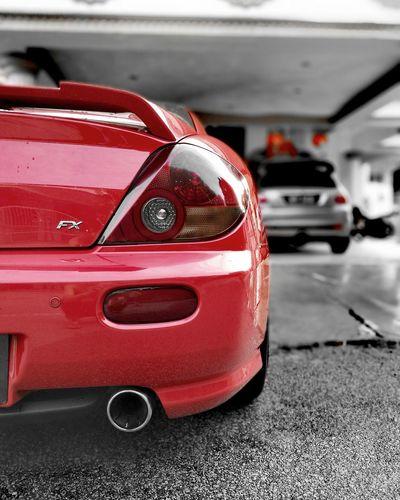 Hyundai Coupe Coupè Washcar Red Car