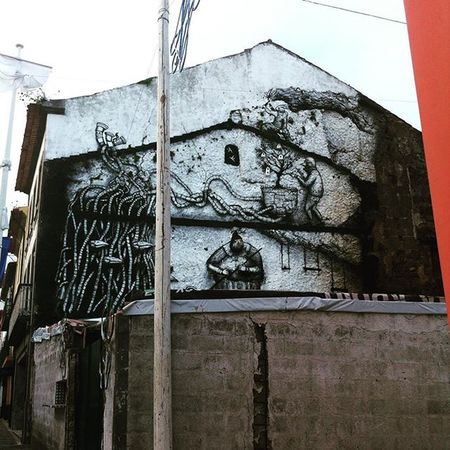 Unkown street art Terceira Açores Street Art/Graffiti Streetphotography