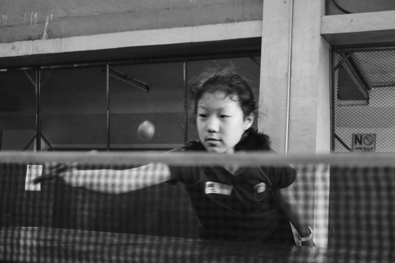 Photographic Memory this photo reminds me of my elementary days when i used to play table tennis on the school team. Black And White Sports Table Tennis School
