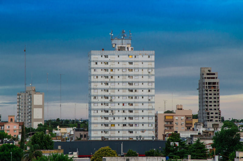Terrace View Panoramic Landscape Campana Buenos Aires Panoramic Photography No People Hdr_Collection Buildings City Campanario