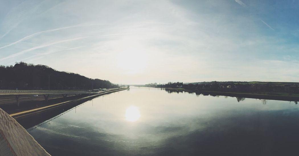 Belgique Visé Meuse Panorama First Eyeem Photo