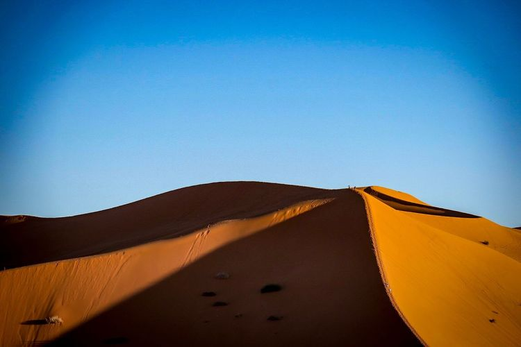 Sahara textures. Sand Dune Desert Sand Blue Nature Outdoors Arid Climate