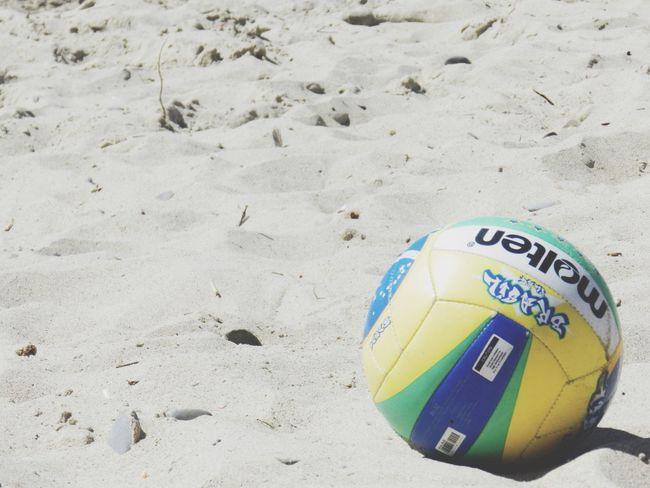 Remember the summer.. Sea Beach Volleyball❤ Summer