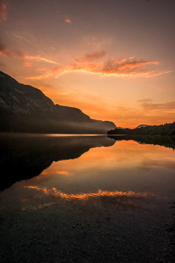 Beautiful Nature Nature Photography Reflection Slovenia Sunlight Water Reflections Beauty Beauty In Nature Beauty In Nature Lake Nature Nature_collection No People Outdoor Photography Outdoors Reflection Scenics Sky Summer Sun Sunset Tranquil Scene Tranquility Water