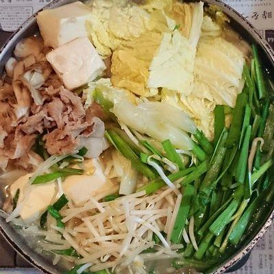 今日の我が家の晩御飯シリーズ 豆乳鍋