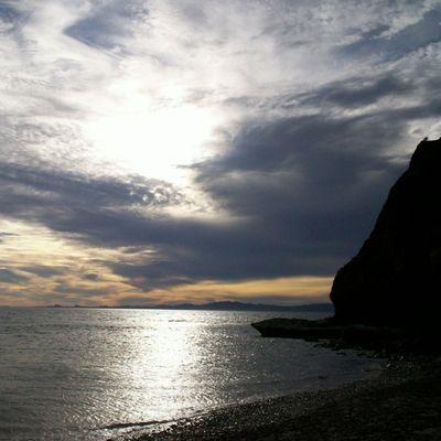 Y seguimos con los paisajes BahíadeKino Sonora Pic Picture mypicture paisaje atardecer agua nubes nublado Cool instacool cute instacute beutiful Naturaleza instanature rocas divino diversión