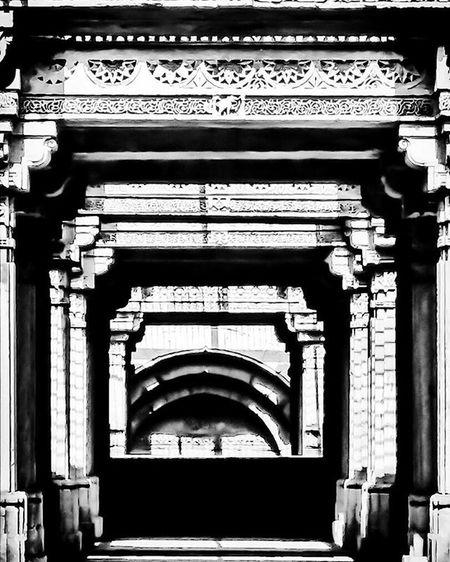 Adalajnivav Adalajstepwell Architecture Blackandwhite Historic Monochrome Monument