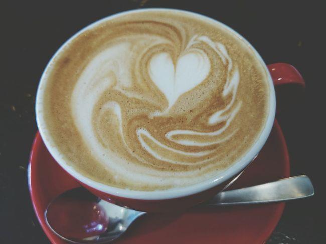 Love U Coffee Time Lateart