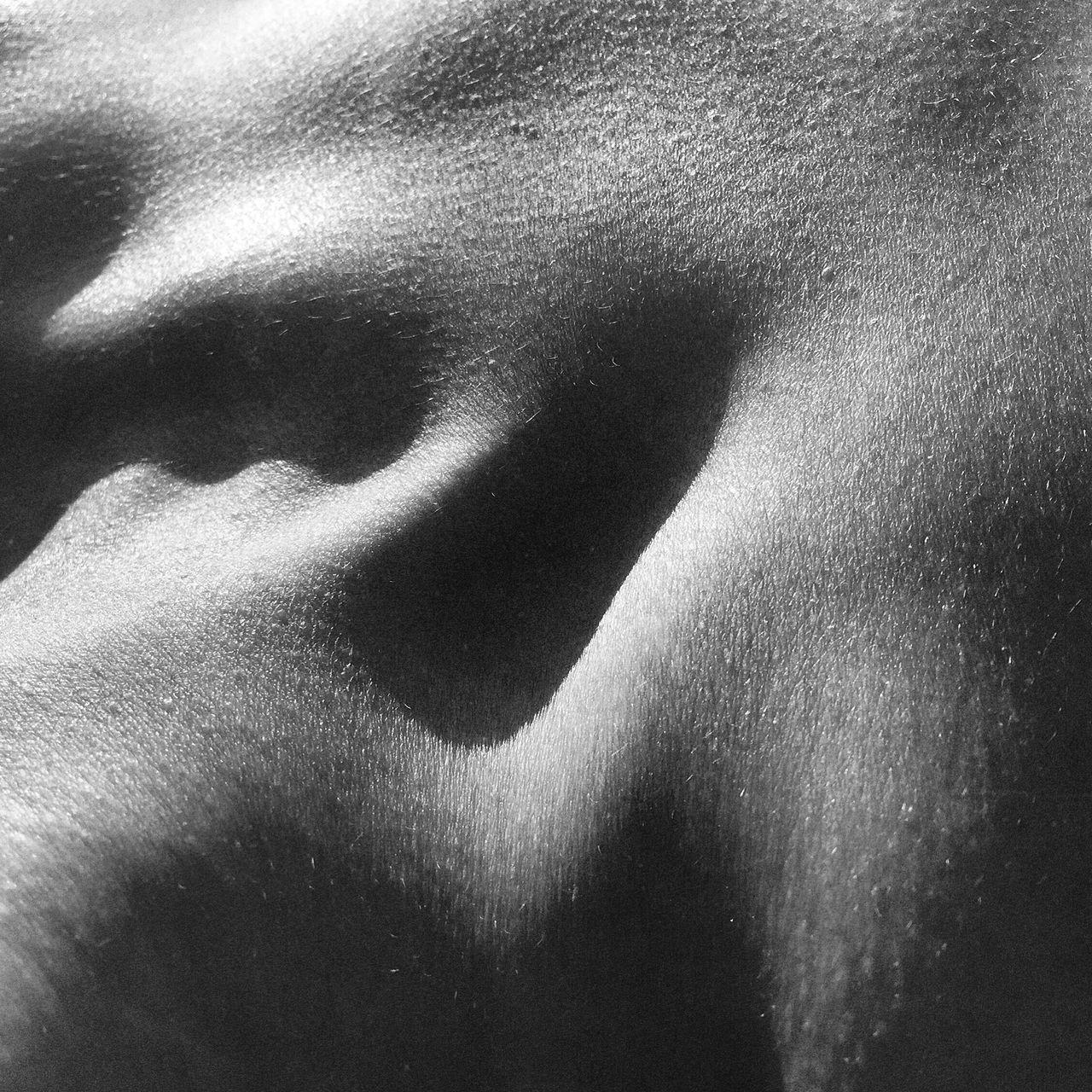 Full frame shot of human body part
