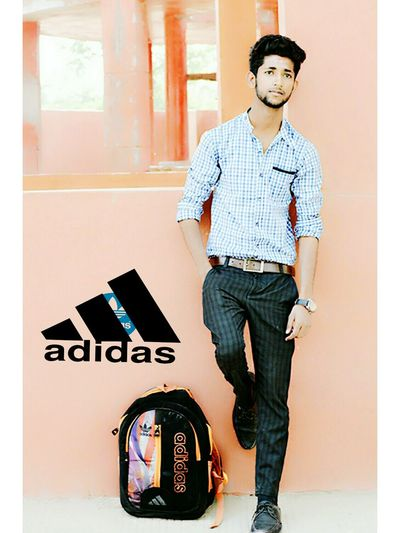 Styles #Dress Farmaan Mughni Teen Followme Dashing Smart #JustMe Like4like Follow Like Addidas Addidas Originals Branch Brand Bag Technology Wireless Technology Full Length Standing Music Musician Arts Culture And Entertainment Young Men Hands In Pockets Gramophone Pants Pocket