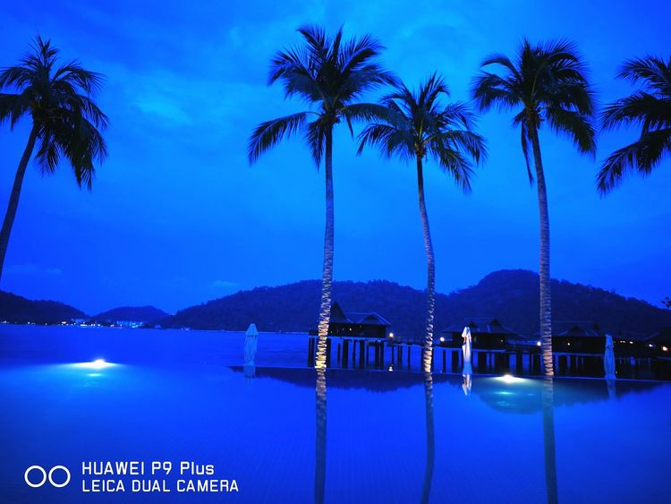 Bluehour Blue Sky Bluehoursky HuaweiP9 Huaweip9my Huaweimobileapac Pangkor Laut Resort Huawei P9. Royal Beach