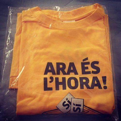 Jo ja tinc la meva samarreta del Sisi ! I vosaltres?