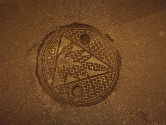Budapest Close-up Day Indoors  Manhole  Manhole Cover Night No People Street Streetarts Trip