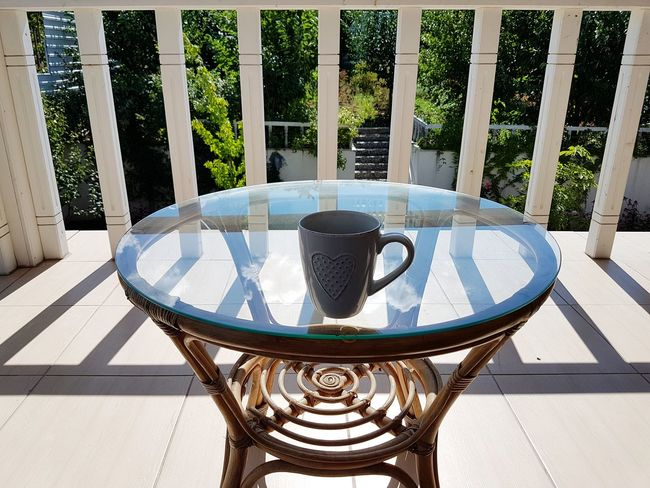 Table Sunlight Outdoors EyeEmNewHere Light And Shadow Cloud - Sky Clouds And Sky Glass Reflected The Refracted Glass Reflection Glass Table Glass Table Top Coffe Table Sky Reflected On Glass Sky Coffee Cup Coffee Time Coffee Break Breathing Space Sunny Day Spontaneous Moments Capture The Moment Serendipity Lifestyle Home Domestic Life Mix Yourself A Good Time Perspectives On Nature Be. Ready.