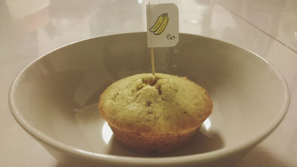 Muffin Banana Muffin Muffin A La Banana