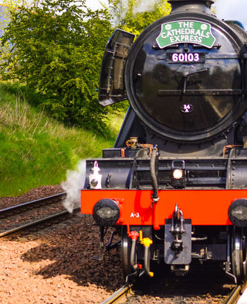 Flying Scotsman in Edinburgh 2016 Cathedrals  Flyingscotsman Locomotive Locomotive Engine Scotland Steam Steam Locomotive Train