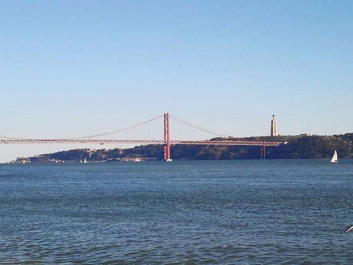 Bridge 25 de Abril, Portugal....