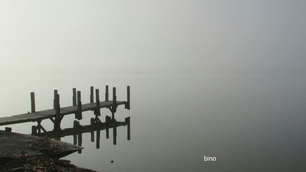 From The Archives Morning Walk Foggy Landscape Cool_capture_ From The Dock Reflections Lake Cadillac Pure Michigan