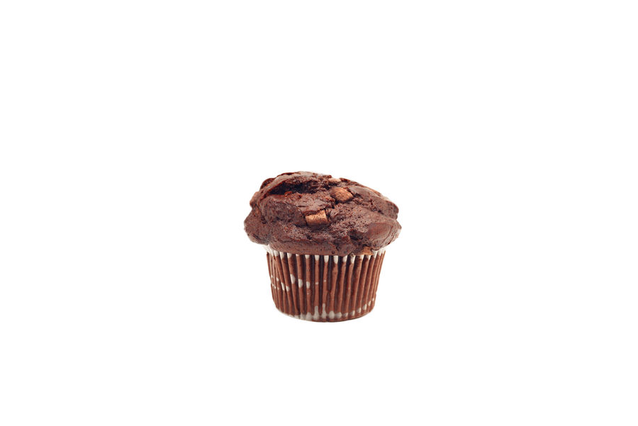 chocolate muffin Baked Baked Pastry Item Cake Chocolate Chocolate Cake Close-up Copy Space Cupcake Cupcake Holder Dessert Food Food And Drink Freshness Indoors  Indulgence Muffin No People Ready-to-eat Snack Studio Shot Sweet Sweet Food Temptation Unhealthy Eating White Background