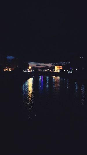 Sky Dark City Night Lights Turkey Samsun