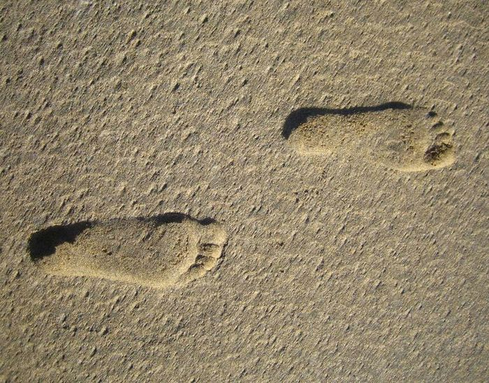 Footprints Footprints Beach