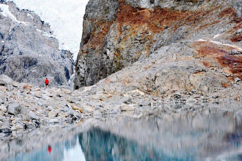 Inmensity. Inmensity Inmensidad Hiking Fitzroy Nikon Minimalism Reflection Contrast Argentina Patagonia Landscape Landscape_Collection