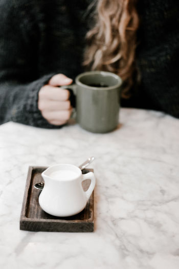 Morning cup of coffee. Morning Coffee Winter Wintertime Close-up Coffee - Drink Coffee Break Coffee Cup Cozy Cozy At Home Cozy Place Cup Day Drink Fall Fall Season Female Food And Drink Freshness Human Hand Indoors  One Person Real People Refreshment Warm Clothing Women