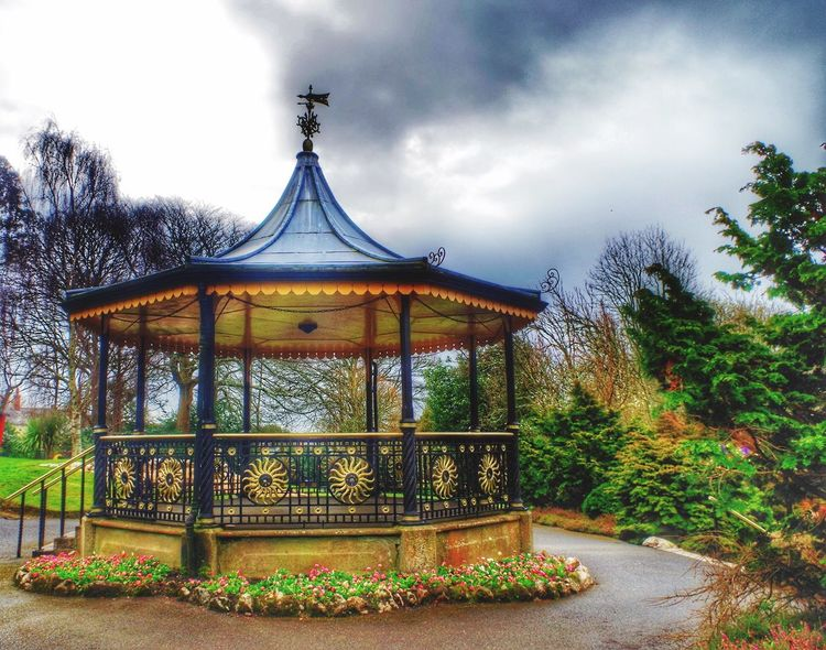 Bandstand Victoria Gardens April 2016 Photography Eye4photography  Taking Photos For The Love Of Photography My Unique Style My Edit EyeEm Best Edits Outdoors Pentax K-50 Truro City Of Truro Cornwall Uk United Kingdom
