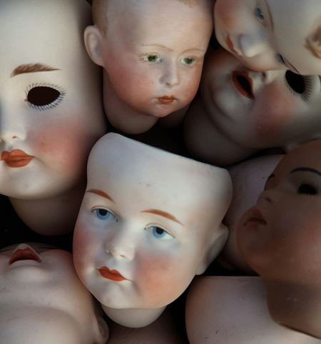 Eye S Eye Face Kids Vintage Cover Background Detail Dolls Doll Face Dollphoto Together Family Friends Friend Friend Children Child Old Style Antique Head And Shoulders HEAD Headshot Lieblingsteil