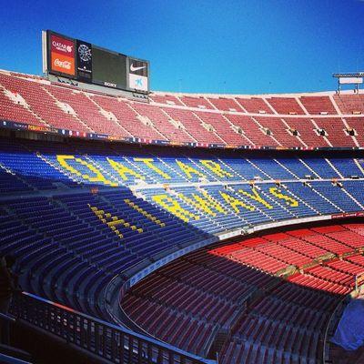 Stadium Barcelona Campnou Catalan sport football