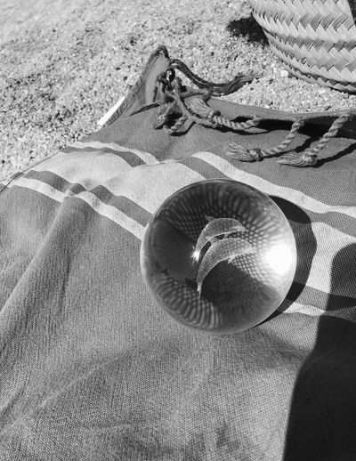 Relax Black & White Black And White Blackandwhite Bws_worldwide BW_photography Bw_lover Bw_collection Crytalball Iphonephotography IPhoneography Iphoneonly Eye4photography  EyeEm Gallery Dolphins Ball Beach Beachphotography Sand Sunlight Beach Land High Angle View Nature Day Sunny