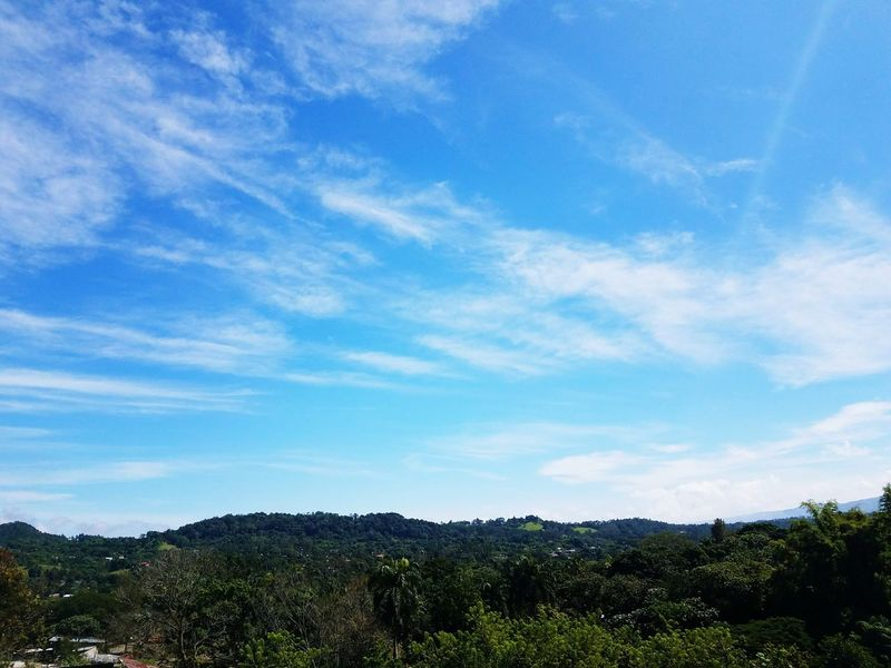 Bluesky Greenmountain Blue Sky White Clouds Tranquility Landscape Outdoors No People Nature Jarabacoa Lost In The Landscape Be. Ready.