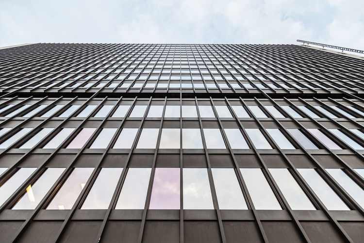 Architecture Building Building Exterior Built Structure City Cloud - Sky Day Directly Below Glass - Material Low Angle View Modern Nature No People Office Office Building Exterior Outdoors Pattern Reflection Sky Skyscraper Tall - High Window