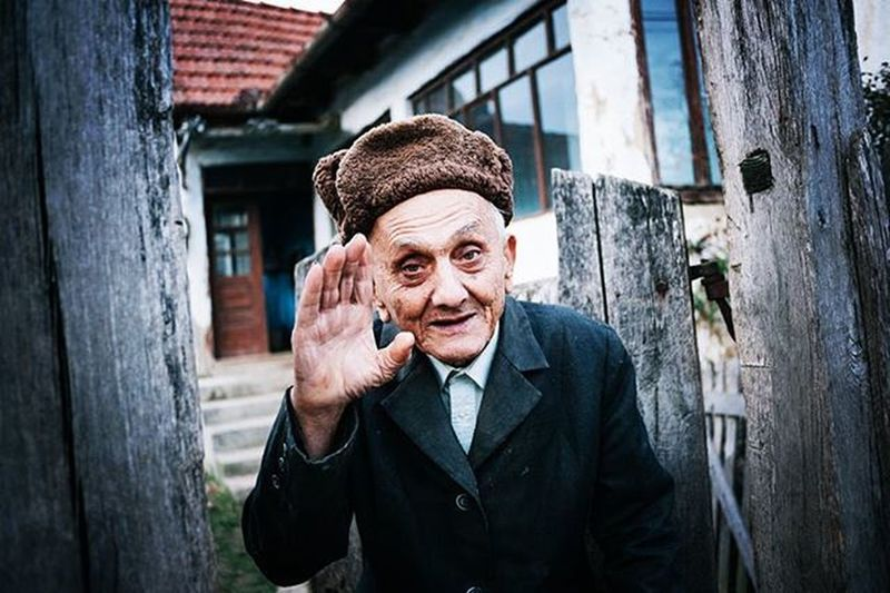 """Ioan Pui, 93 years old. Nadas, Romania, 2015. This image is part of """"Return of the boyars"""", a multimedia work to be released soon. Photo by Ciprian Hord/@ciprianhord Reportagespotlight Nadas Injustice Myfeatureshoot"""