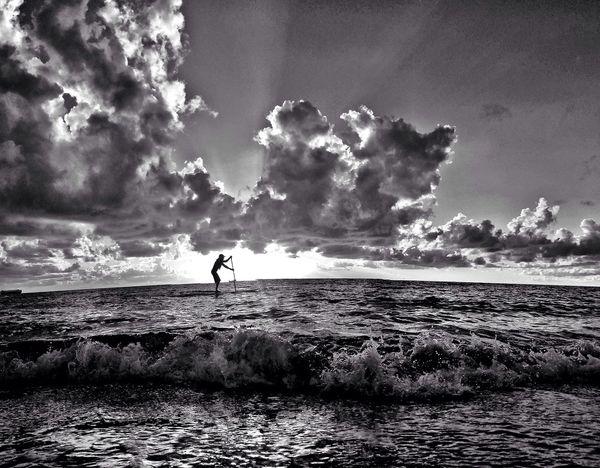 Paddle Elemental NEM Black&white NEM Clouds