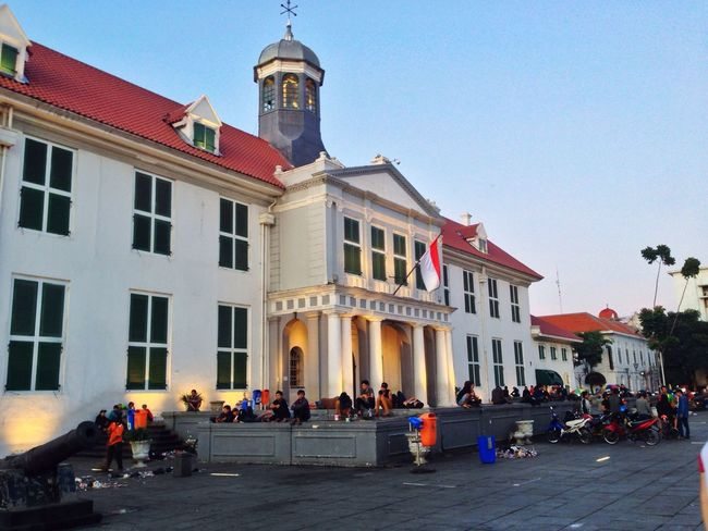 Jakarta Musem Fatahila Kota Tua Jakarta's historical site