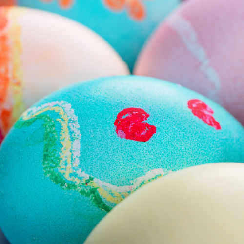 Close-up of easter egg