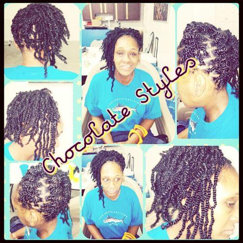 ChocolateStyles Natural Hair Makeupartisthairstylist Hair Stylist