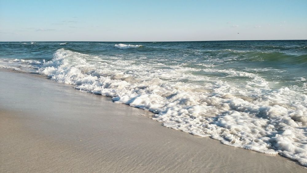 Ocean Gulf Of Mexico Gulf Shores Gulf Coast Water Waves Ocean Foam Breaking Waves Nature Nature Photography Beach White Sand Adventure